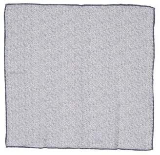 Brunello Cucinelli Woven Linen Pocket Square