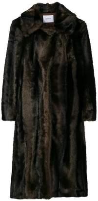 Dondup oversized furry coat