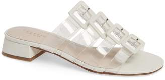clear Cecelia New York Lincoln Strappy Slide Sandal