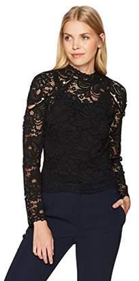 Keepsake The Label Women's Lace Longsleeve Illusion Top