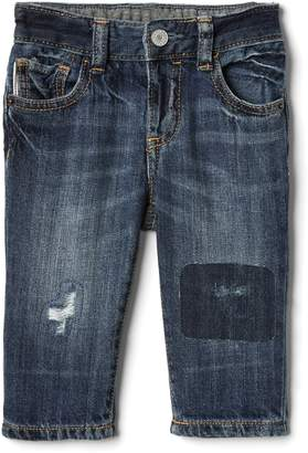 Gap My First Straight Jeans in Distressed
