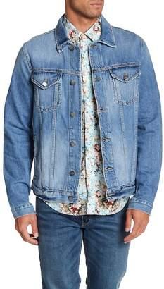 Frame L'Homme Faded Denim Jacket