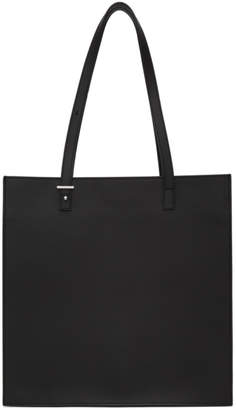 Pb 0110 Black Leather Tote
