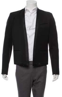 Balmain Open Front Wool Blazer