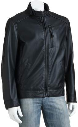 Sonoma Goods For Life Men's SONOMA Goods for Life Ribbed Faux-Leather Jacket