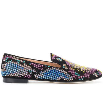 Giuseppe Zanotti Design micro studded loafers