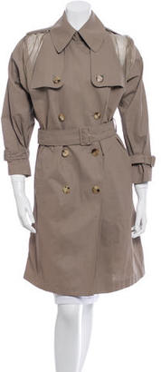 Jean Paul Gaultier Belted Trench Coat $200 thestylecure.com