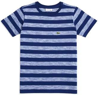 Lacoste Boys' Striped Tee