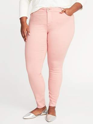 Old Navy High-Rise Smooth & Slim Plus-Size Rockstar Jeans