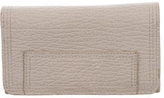 3.1 Phillip Lim 3.1 Phillip Lim Grey Leather Wallet
