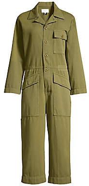 Current/Elliott Women's The Richland Linen-Blend Jumpsuit