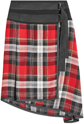 Public School Asymmetric Skirt with Virgin Wool