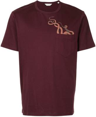 Gieves & Hawkes octopus print T-shirt