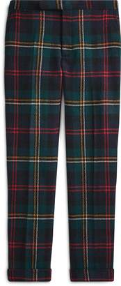 Ralph Lauren Polo Plaid Wool Twill Trouser