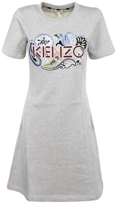 Kenzo (ケンゾー) - Kenzo Paisley Logo Sweatshirt Dress