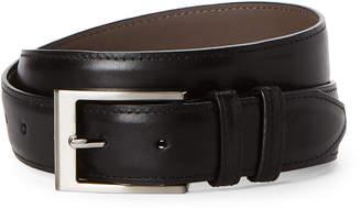 Robert Talbott Black Leather Dress Belt