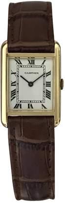 Cartier Tank Louis yellow gold watch