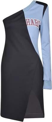 Off-White Off White Single Shoulder Dress