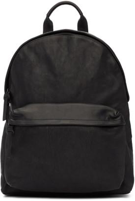 Officine Creative Black Novak OC Backpack