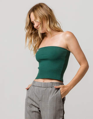 Hunter Sky And Sparrow Basic Ribbed Womens Tube Top