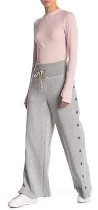 Free People Viola Snap Button Knit Sweatpants
