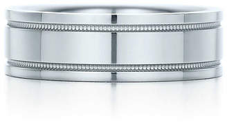 Tiffany & Co. Essential Band double milgrain ring