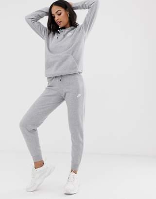 Nike gray essentials slim sweatpants