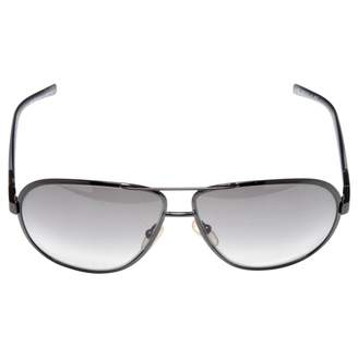 Saint Laurent Black Plastic Sunglasses