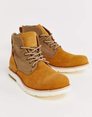 Levi's Levis Jax light leather hiker boot in brown