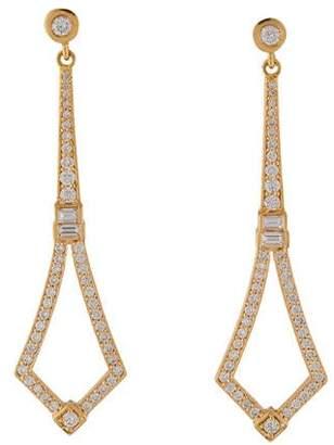 Penny Preville 18K Diamond Drop Earrings