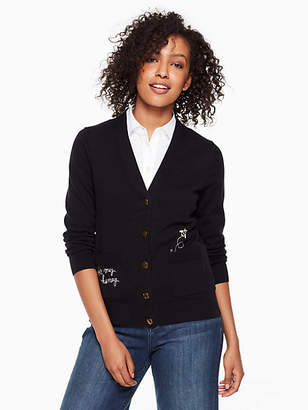 Kate Spade Bee my honey cardigan