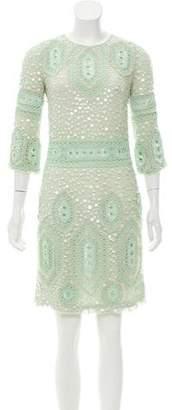 Emilio Pucci Long Sleeve Mini Dress