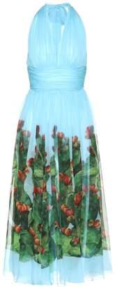 Dolce & Gabbana Exclusive to mytheresa.com printed silk dress