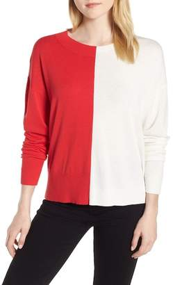 Trouve Trouv? Asymmetrical Pullover Sweater