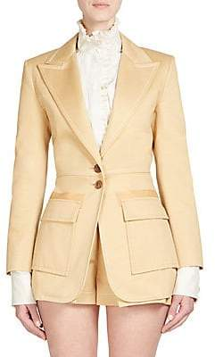 Chloé Women's Cotton Gabardine Blazer