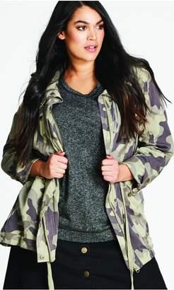 City Chic Citychic Military Pocket Jacket