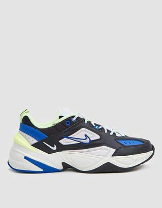 Nike M2K Tekno Sneaker in Black/Metallic Silver