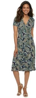 Croft & Barrow Women's Surplice Dress