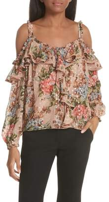 Needle & Thread Paradise Rose Shimmer Top