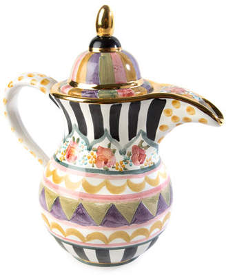 Mackenzie Childs MacKenzie-Childs Bazaar Coffee Pot