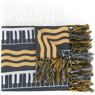 Undercover striped scarf