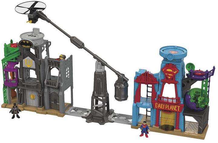 Fisher-price Imaginext DC Super Friends Super Hero Flight City by Fisher-Price
