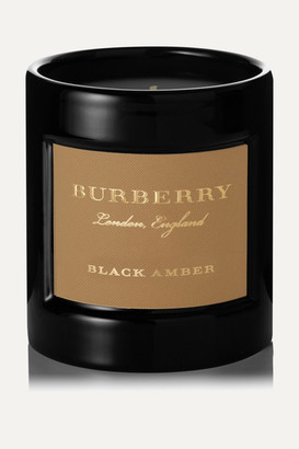 Burberry Black Amber Scented Candle, 240g - Colorless