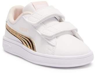 Puma Smash V2 Mermaid Sneaker (Toddler)