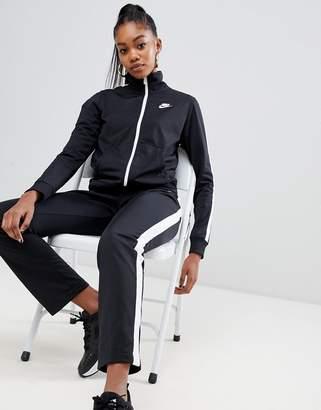 Nike Black Side Stripe Tracksuit Co-Ord Set
