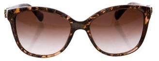 Dolce & Gabbana Marbled Gradient Sunglasses
