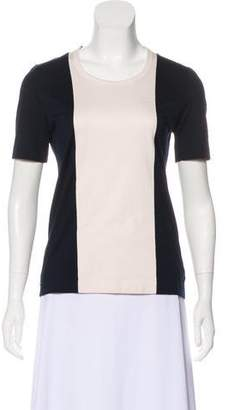 Akris Punto Colorblock Short Sleeve T-Shirt