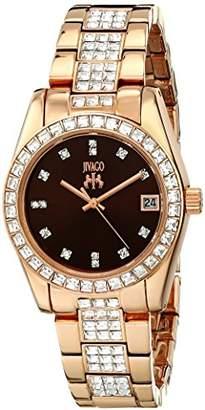 Jivago Women's JV6413 Magnifique Analog Display Quartz Rose Gold Watch
