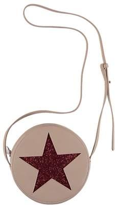 Stella McCartney Glitter Star Faux Leather Crossbody Bag