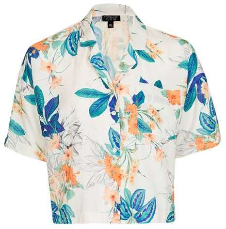 TopshopTopshop Tropical print pyjama shirt